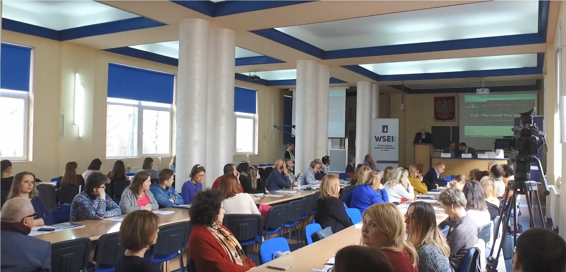 Konferencja CaT w Wyższej Szkole Ekonomii i Innowacji w Lublinie