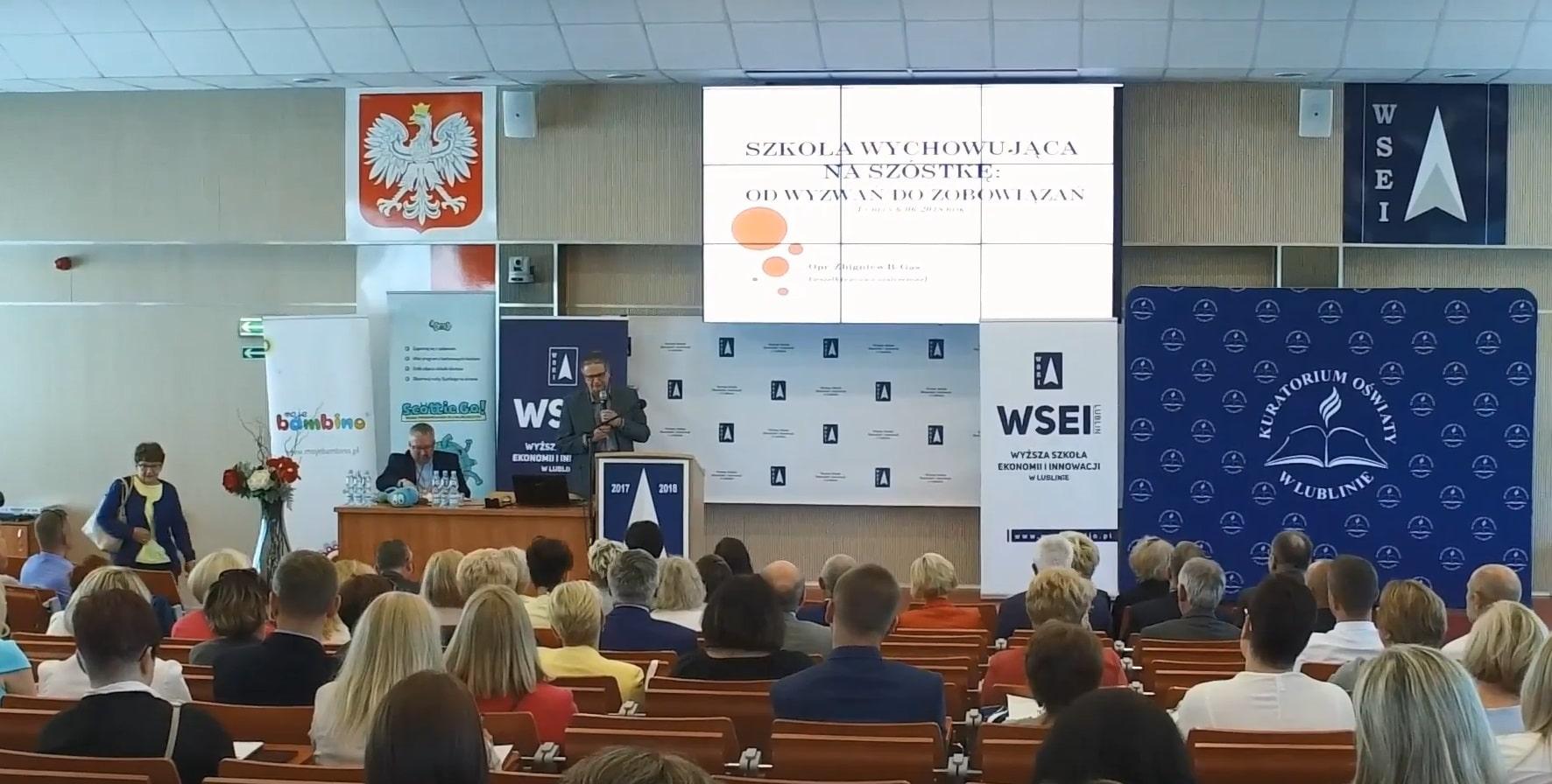 """Konferencja """"Wartości w świecie młodzieży – młodzież w świecie wartości"""""""