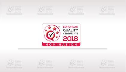 WSEI z Godłem nominacyjnym – European Quality Certificate 2018