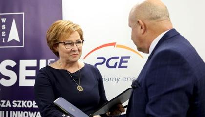 WSEI rozpoczyna współpracę z PGE Obrót S.A.