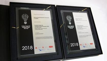 WSEI otrzymała Polską Nagrodę Inteligentnego Rozwoju 2018