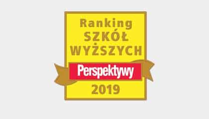 """Uczymy kompetencji przyszłości"""". Awans WSEI w rankingu """"Perspektyw 2019"""