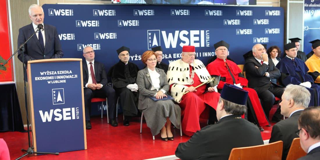 Uroczysta Inauguracja Roku Akademickiego 2019/2020 w Wyższej Szkole Ekonomii i Innowacji w Lublinie