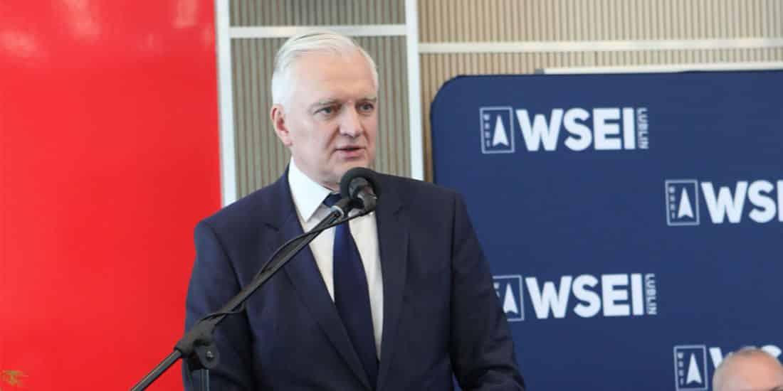 Wystąpienie Dr Jarosława Gowina na Inauguracji Roku Akademickiego 2019/2020 w WSEI w Lublinie