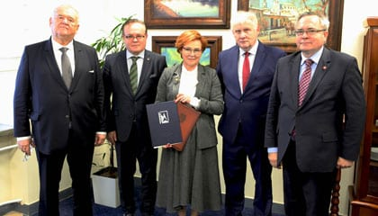 WSEI podpisuje umowę o współpracy z Wschodnioeuropejskim Uniwersytetem Narodowym im. Łesi Ukrainki w Łucku