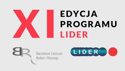 XI edycja konkursu w ramach Programu LIDER.