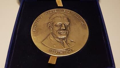 Medal dla wykładowcy WSEI