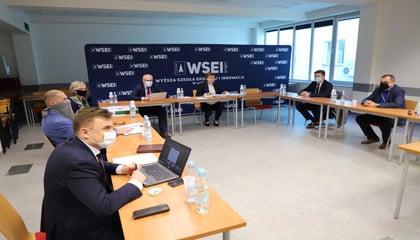 Spotkanie Władz WSEI z pracodawcami i przedstawicielami organizacji zrzeszających pracodawców