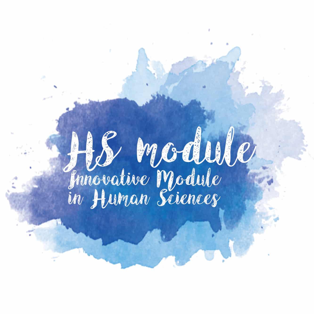 High sensitivity – Innovative Module in human sciences. (HSP)