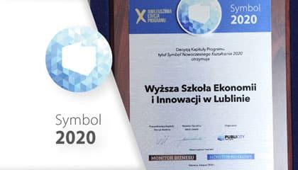 """WSEI z tytułem """"Symbol Nowoczesnego Kształcenia 2020"""""""